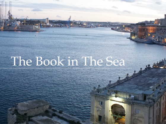 The Book in The Sea